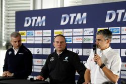 Pres conference: Jens Maquardt, BMW Motorsport Director, Ullrich Fritz, Team Principal Mercdes AMG;