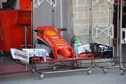 Ferrari SF16-H, cono de nariz