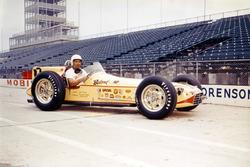 Race winner Jimmy Bryan