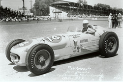 Race winner Bill Vukovich