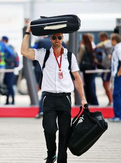 Daniel Schloesser, Mercedes AMG F1 Physiotherapeut