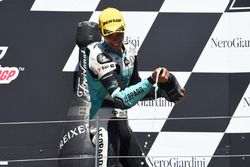 Podium: Joan Mir, Leopard Racing, KTM