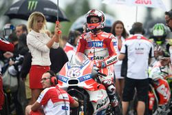 Andrea Dovizioso, Ducati Team with a lovely grid girl