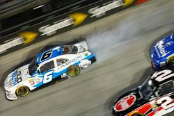 Darrell Wallace Jr., Roush Fenway Racing Ford in trouble