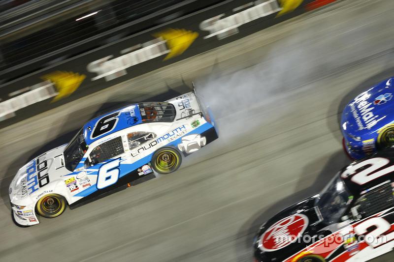 Problemi per Darrell Wallace Jr., Roush Fenway Racing Ford