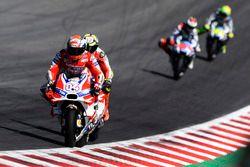 Andrea Dovizioso, Ducati Team; Andrea Iannone, Ducati Team