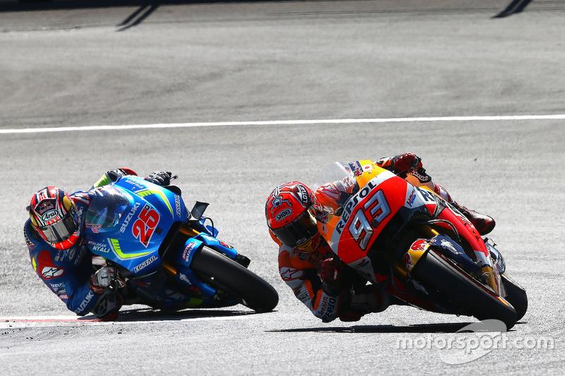 Marc Márquez, Repsol Honda Team, Maverick Viñales, Team Suzuki Ecstar MotoGP