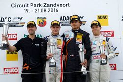 Podio: Sieger Kami Laliberté, Van Amersfoort Racing ; 2. Jonathan Aberdein, Motopark;3. Felipe Drugovich, Neuhauser Racing