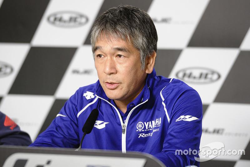 Kouichi Tsuji, presidente de Yamaha Factory Racing, confirmó este lunes en Kuala Lumpur los cambios en la cúpula del equipo.