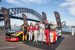 Chaz Mostert, Renee Gracie, Simona De Silvestro, Craig Lowndes und James Courtney