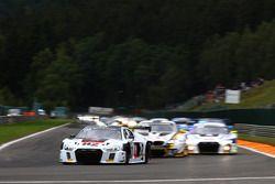 #74 ISR, Audi R8 LMS: Philippe Giauque, Henry Hassid, Nicolas Lapierre, Franck Perera