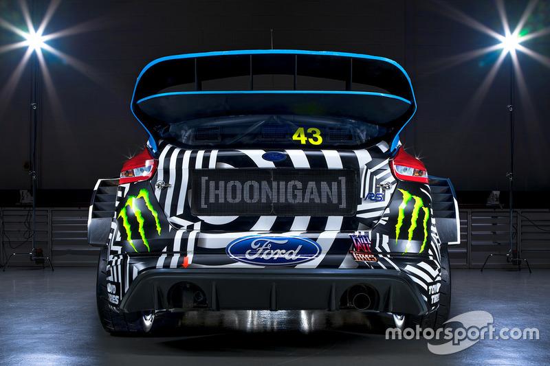 Ken Block, livrea Ford Hoonigan Racing Division