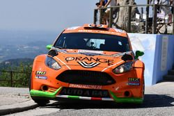 Simone Campedelli, Danilo Fappani Ford Fiesta GPL R5