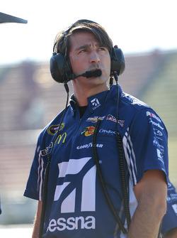Matt McCall, Jefe del equipo de Jamie McMurray, Chip Ganassi Racing Chevrolet