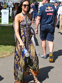 Minttu Virtanen, Freundin von Kimi Räikkönen, Ferrari