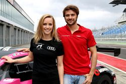 Mikaela Ahlin-Kottulinsky und Marco Bonanomi, Aust Motorsport