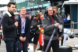 Steve Jones en David Coulthard, Channel 4 F1