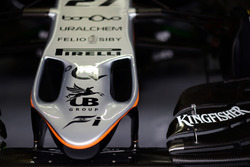Nase: Sahara Force India F1 VJM09