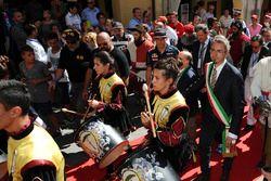 Parade met Max Verstappen, Red Bull Racing