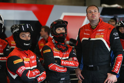 Crew of the Belgian Audi Club Team WRT