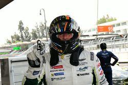 Обладатели поула в класс LM GTE Am: Пол Далла-Лана, Педро Лами и Матиас Лауда, #98 Aston Martin Raci
