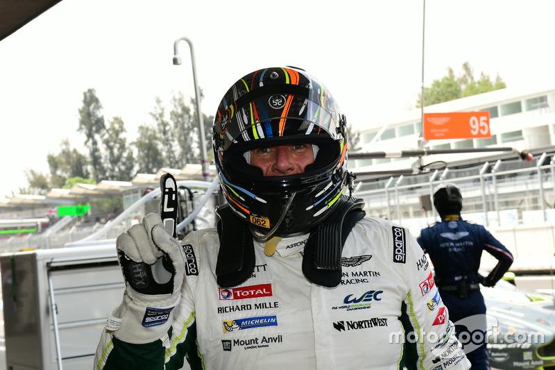 LM GTE Am polesitters #98 Aston Martin Racing Aston Martin Vantage GTE: Paul Dalla Lana, Pedro Lamy, Mathias Lauda