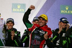 Podio LMP2: Filipe Albuquerque, #43 RGR Sport by Morand Oreca 05 - Nissan