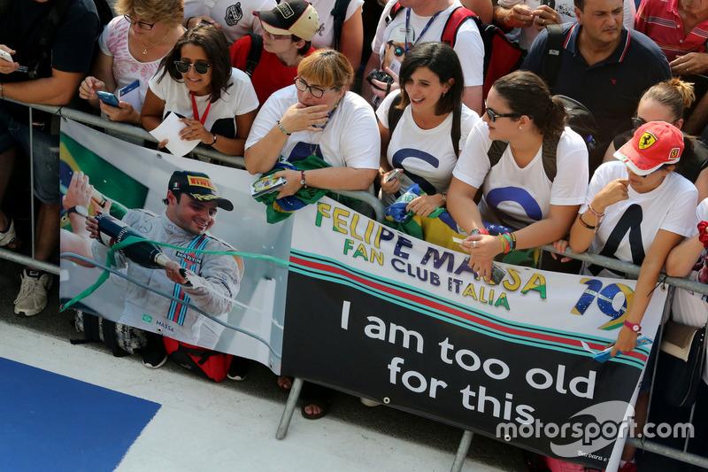 Fans von Felipe Massa
