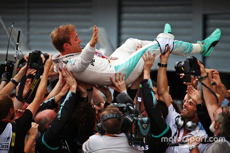 2016: Nico Rosberg, Mercedes