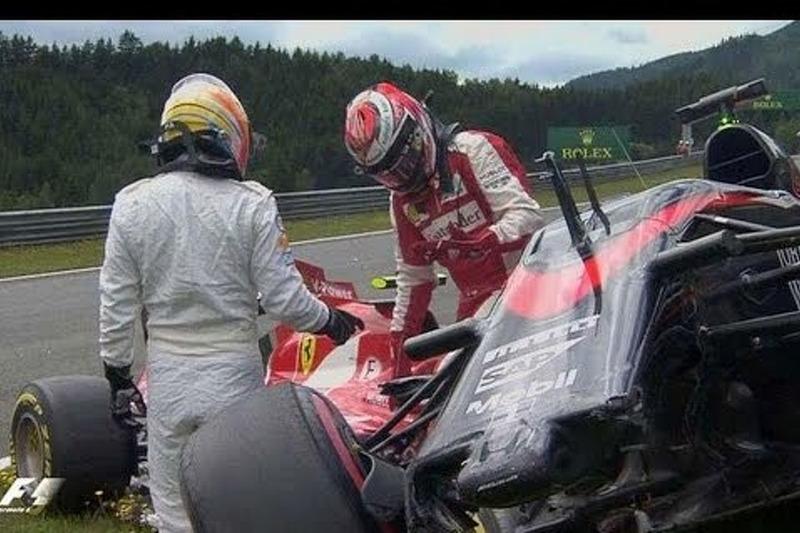 Alonso-Raikkonen kaza