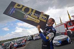 Ganador de la pole Dusan Borkovic, Seat Leon B3 Racing Ungheria