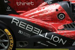 #13 Rebellion Racing Rebellion R-One AER detail