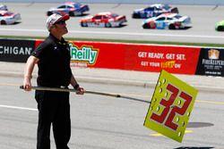 Le panneau de Jeffrey Earnhardt, Go Green Racing Ford
