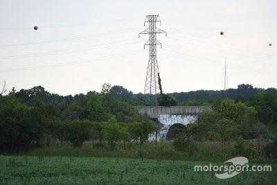 Der stillgelegte Nazareth Speedway