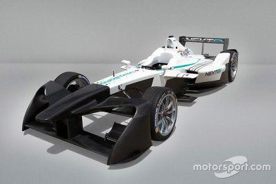 Formula E 2017 ön kanat tasarım