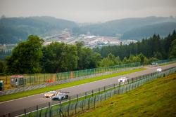 #57 Black Falcon, Mercedes-AMG GT3: Adam Christodoulou, Hubert Haupt, Andreas Simonsen; #50 AF Corse