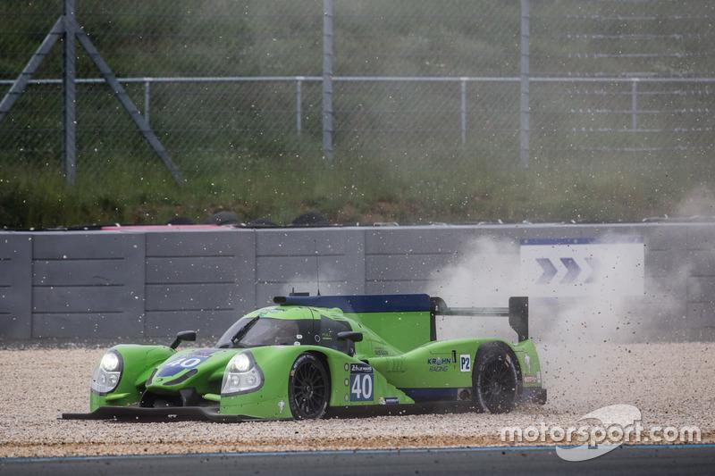 22. #40 Krohn Racing Ligier JS P2 Nissan: Tracy Krohn, Nic Jonsson, Joao Barbosa
