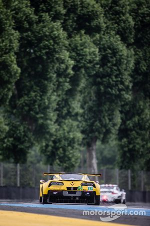 Оливер Гэвин, Томми Милнер, Джордан Тейлор, #64 Corvette Racing - GM Chevrolet Corvette C7R