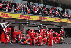 Boxenstopp: Kimi Räikkönen, Ferrari SF16-H