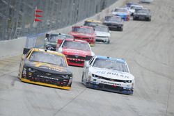 Brendan Gaughan, Richard Childress Racing Chevrolet, Brennan Poole, Chip Ganassi Racing Chevrolet