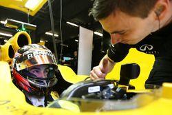 Esteban Ocon, pilote de réserve, Renault Sport F1 Team