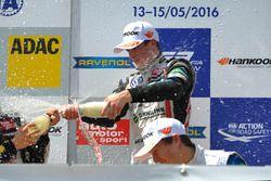 Podium, rookie, Joel Eriksson, Motopark Dallara F312 – Volkswagen