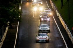 Peter Terting, Jörg Viebahn, PROsport Performance, Porsche Cayman PRO4 GT4 leads