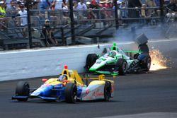 Sage Karam, Dreyer & Reinbold Racing Chevrolet kaza
