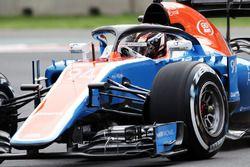 Pascal Wehrlein, Manor Racing MRT05 avec le Halo