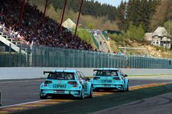 Jean-Karl Vernay and Stefano Comini, Leopard Racing, Volkswagen Golf GTI TCR