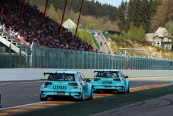 Jean-Karl Vernay and Stefano Comini, Leopard Racing, Volkswagen Golf GTI TCR