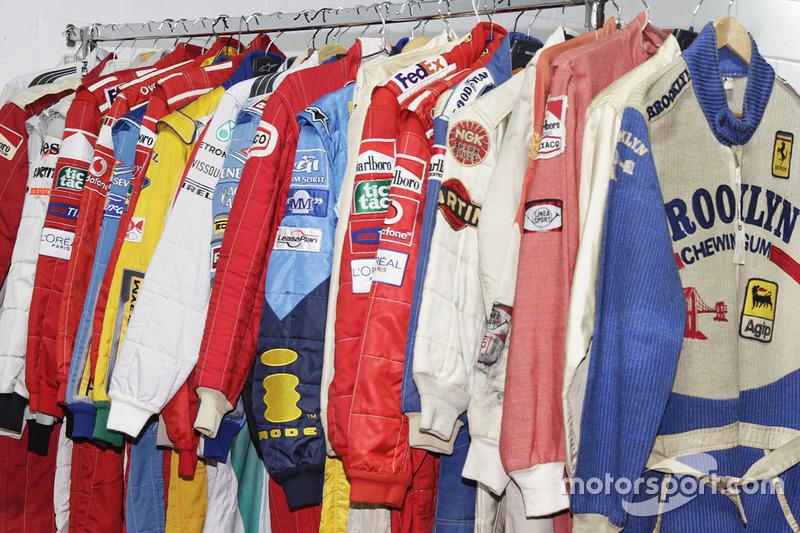 Colección de trajes de carreras