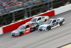 Kevin Harvick, Stewart-Haas Racing Chevrolet, Paul Menard, Richard Childress Racing Chevrolet, Danic