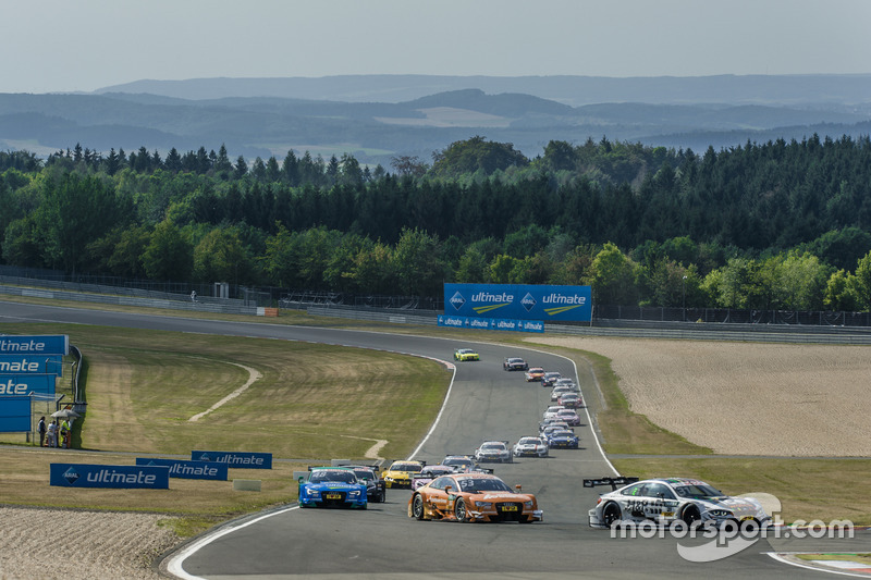Start, Tom Blomqvist, BMW Team RBM, BMW M4 DTM